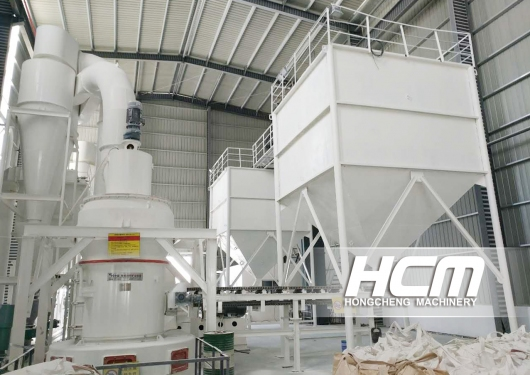 HCM Machinery, HC1000 Grinding Mill - 20,000t/year pharmaceutical grade talc powder project in Guili